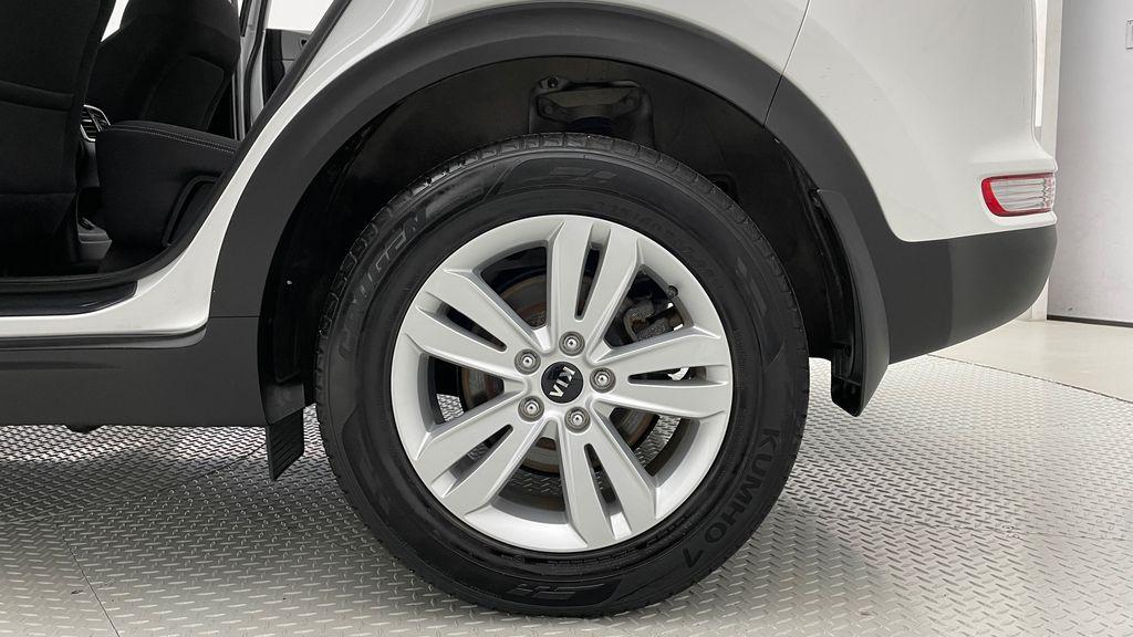White[Snow White Pearl] 2019 Kia Sportage LX AWD - Heated Seats, Backup Camera, Bluetooth Left Rear Rim and Tire Photo in Winnipeg MB
