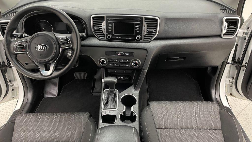 White[Snow White Pearl] 2019 Kia Sportage LX AWD - Heated Seats, Backup Camera, Bluetooth Central Dash Options Photo in Winnipeg MB