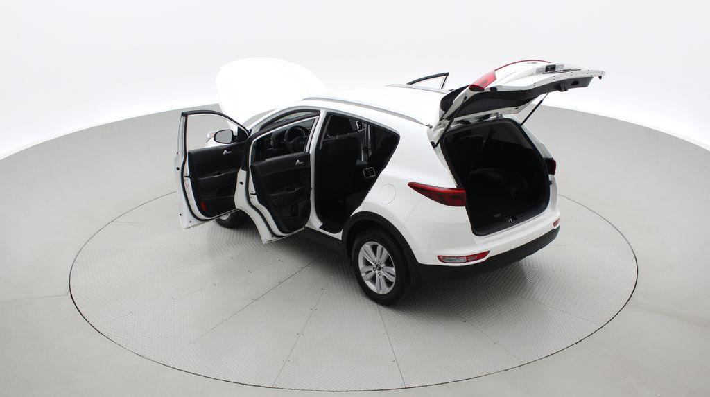 White[Snow White Pearl] 2019 Kia Sportage LX AWD - Heated Seats, Backup Camera, Bluetooth Right  Rear Corner Photo in Winnipeg MB
