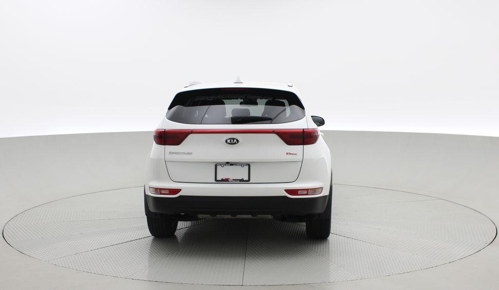 White[Snow White Pearl] 2019 Kia Sportage LX AWD - Heated Seats, Backup Camera, Bluetooth Rear of Vehicle Photo in Winnipeg MB