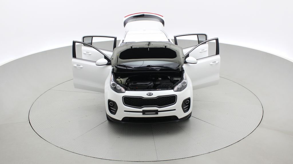 White[Snow White Pearl] 2019 Kia Sportage LX AWD - Heated Seats, Backup Camera, Bluetooth Front Vehicle Photo in Winnipeg MB