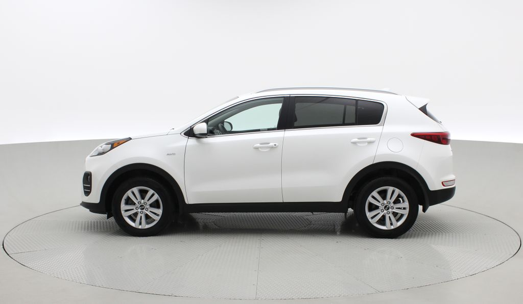 White[Snow White Pearl] 2019 Kia Sportage LX AWD - Heated Seats, Backup Camera, Bluetooth Left Side Photo in Winnipeg MB