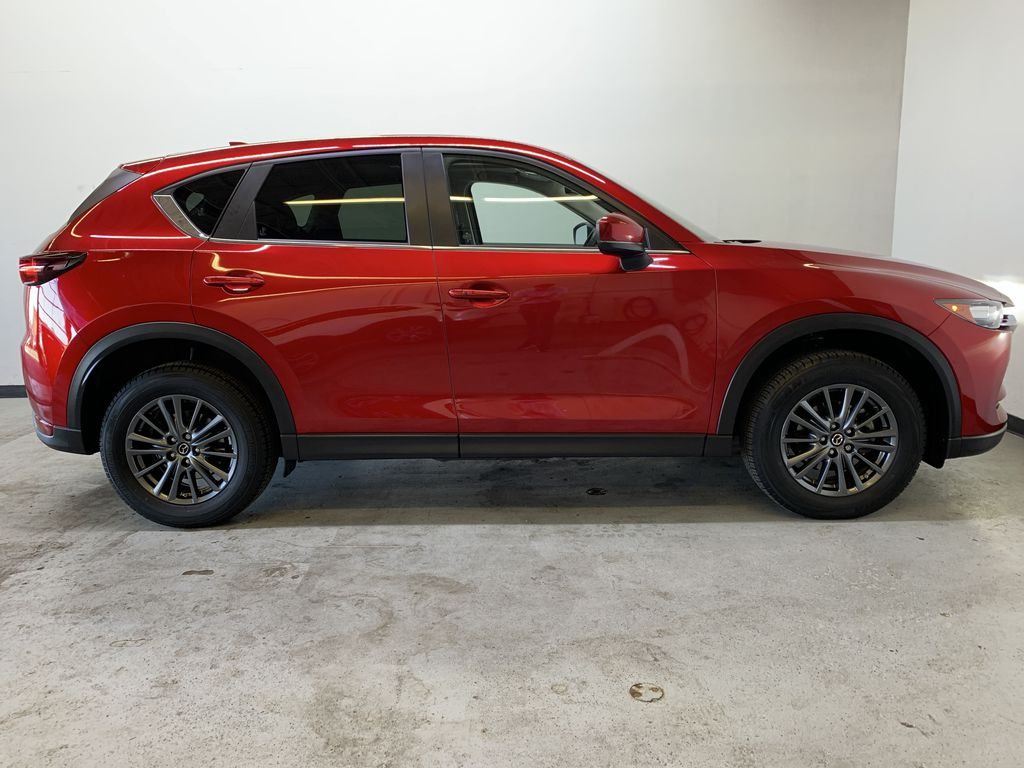 SOUL RED CRYSTAL METALLIC 2019 Mazda CX-5 GS - Bluetooth, Remote Start, Backup Cam, Adaptive Cruise, Apple CarPlay Right Side Photo in Edmonton AB