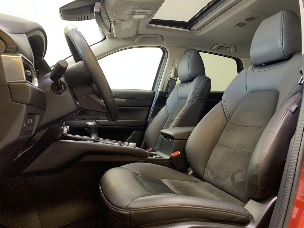 SOUL RED CRYSTAL METALLIC 2019 Mazda CX-5 GS - Bluetooth, Remote Start, Backup Cam, Adaptive Cruise, Apple CarPlay Left Front Interior Photo in Edmonton AB