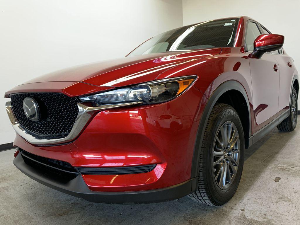 SOUL RED CRYSTAL METALLIC 2019 Mazda CX-5 GS - Bluetooth, Remote Start, Backup Cam, Adaptive Cruise, Apple CarPlay Left Front Corner Photo in Edmonton AB