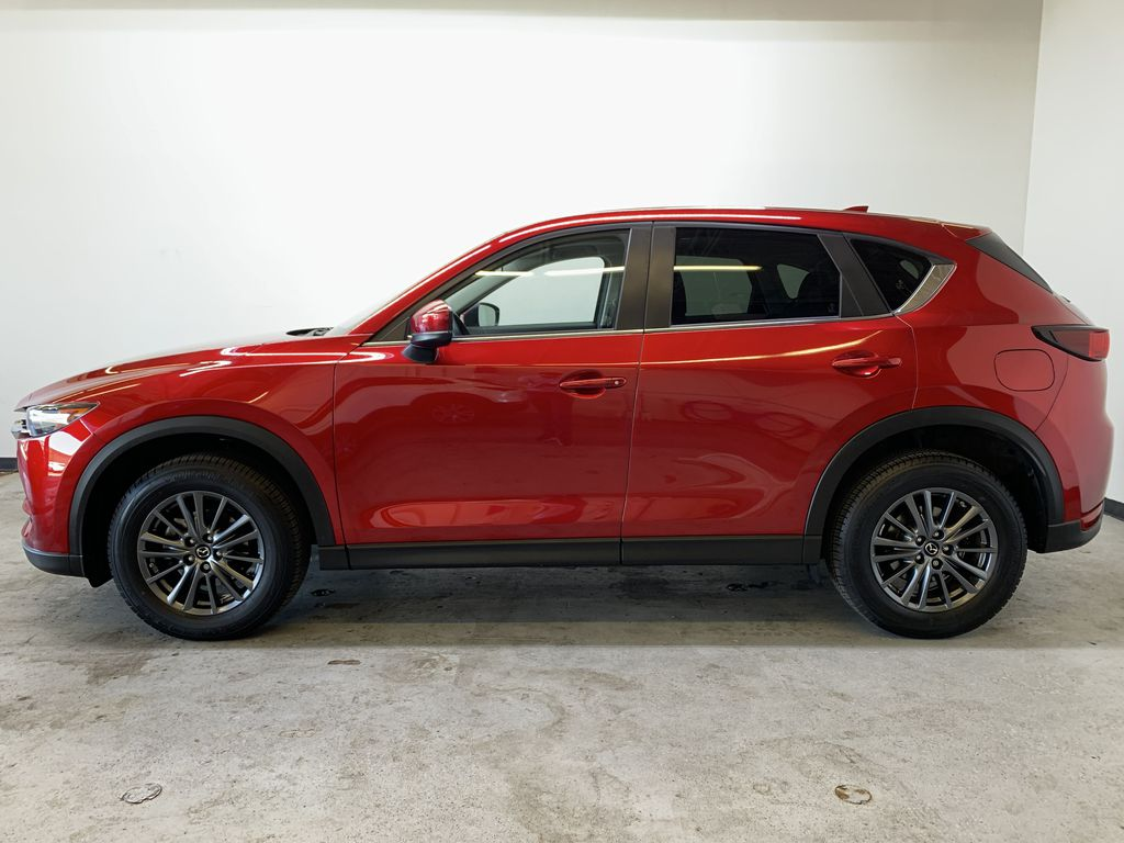 SOUL RED CRYSTAL METALLIC 2019 Mazda CX-5 GS - Bluetooth, Remote Start, Backup Cam, Adaptive Cruise, Apple CarPlay Left Side Photo in Edmonton AB