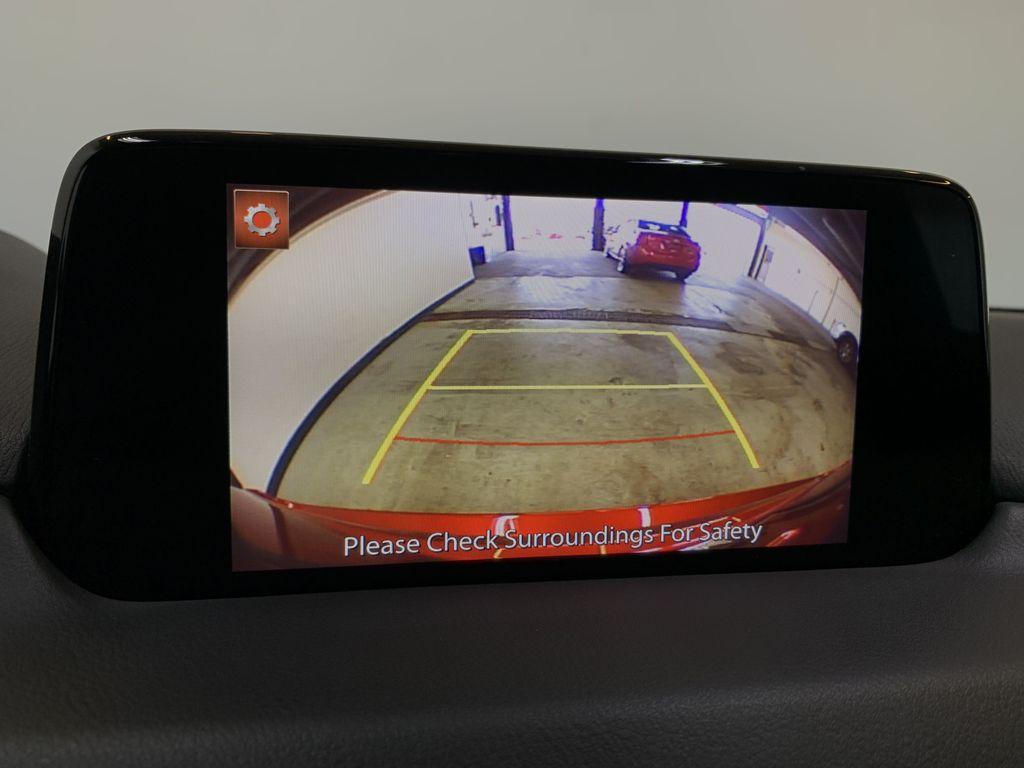 SOUL RED CRYSTAL METALLIC 2019 Mazda CX-5 GS - Bluetooth, Remote Start, Backup Cam, Adaptive Cruise, Apple CarPlay Backup Camera Closeup Photo in Edmonton AB