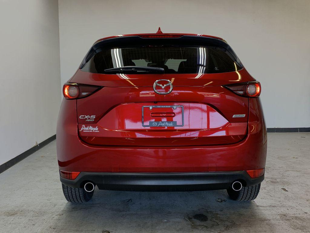 SOUL RED CRYSTAL METALLIC 2019 Mazda CX-5 GS - Bluetooth, Remote Start, Backup Cam, Adaptive Cruise, Apple CarPlay Rear of Vehicle Photo in Edmonton AB