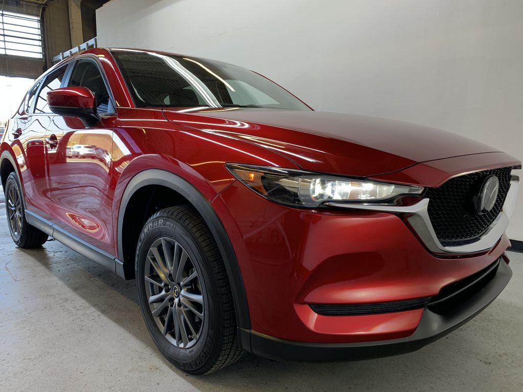 SOUL RED CRYSTAL METALLIC 2019 Mazda CX-5 GS - Bluetooth, Remote Start, Backup Cam, Adaptive Cruise, Apple CarPlay Right Front Corner Photo in Edmonton AB