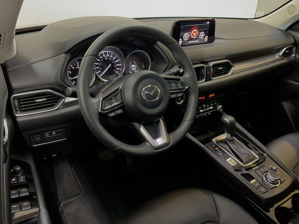 SOUL RED CRYSTAL METALLIC 2019 Mazda CX-5 GS - Bluetooth, Remote Start, Backup Cam, Adaptive Cruise, Apple CarPlay Steering Wheel and Dash Photo in Edmonton AB