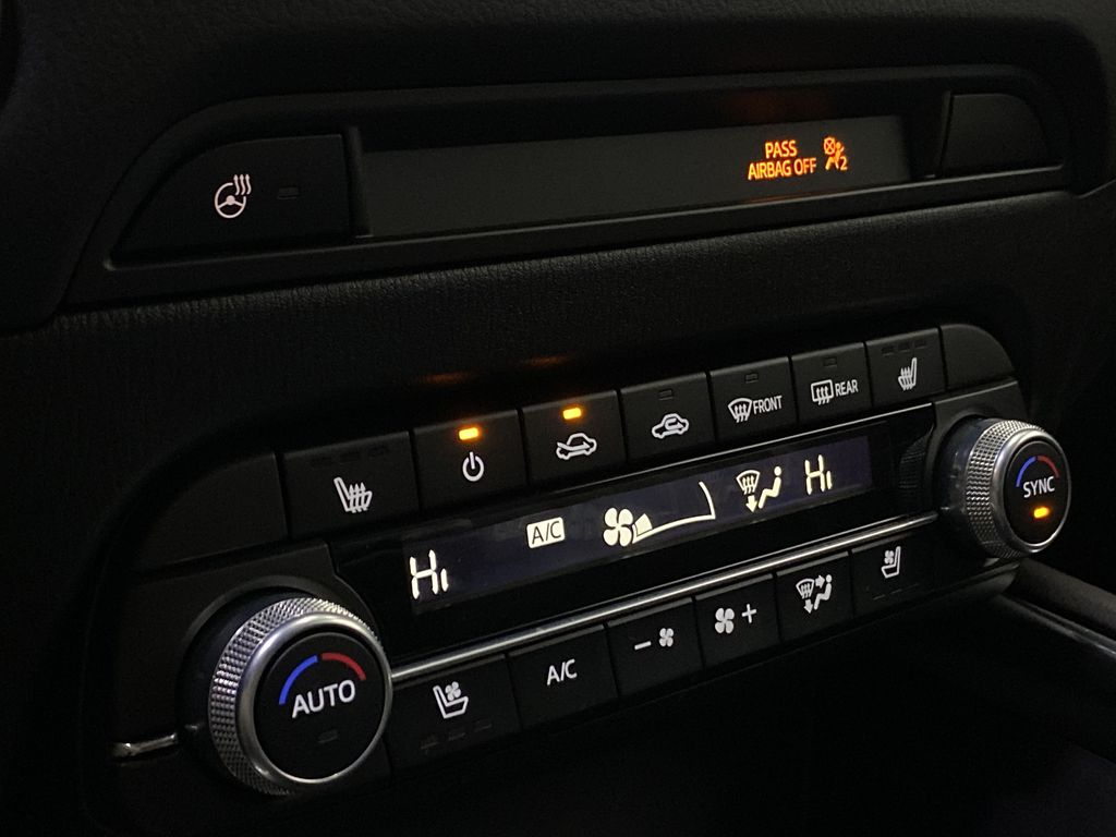JET BLACK MICA 2021 Mazda CX-5 Signature AWD - Apple CarPlay, 360º Camera, Adaptive Cruise Central Dash Options Photo in Edmonton AB