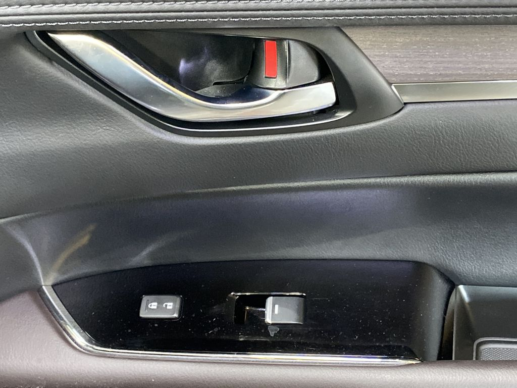 JET BLACK MICA 2021 Mazda CX-5 Signature AWD - Apple CarPlay, 360º Camera, Adaptive Cruise Passenger Front Door Controls Photo in Edmonton AB
