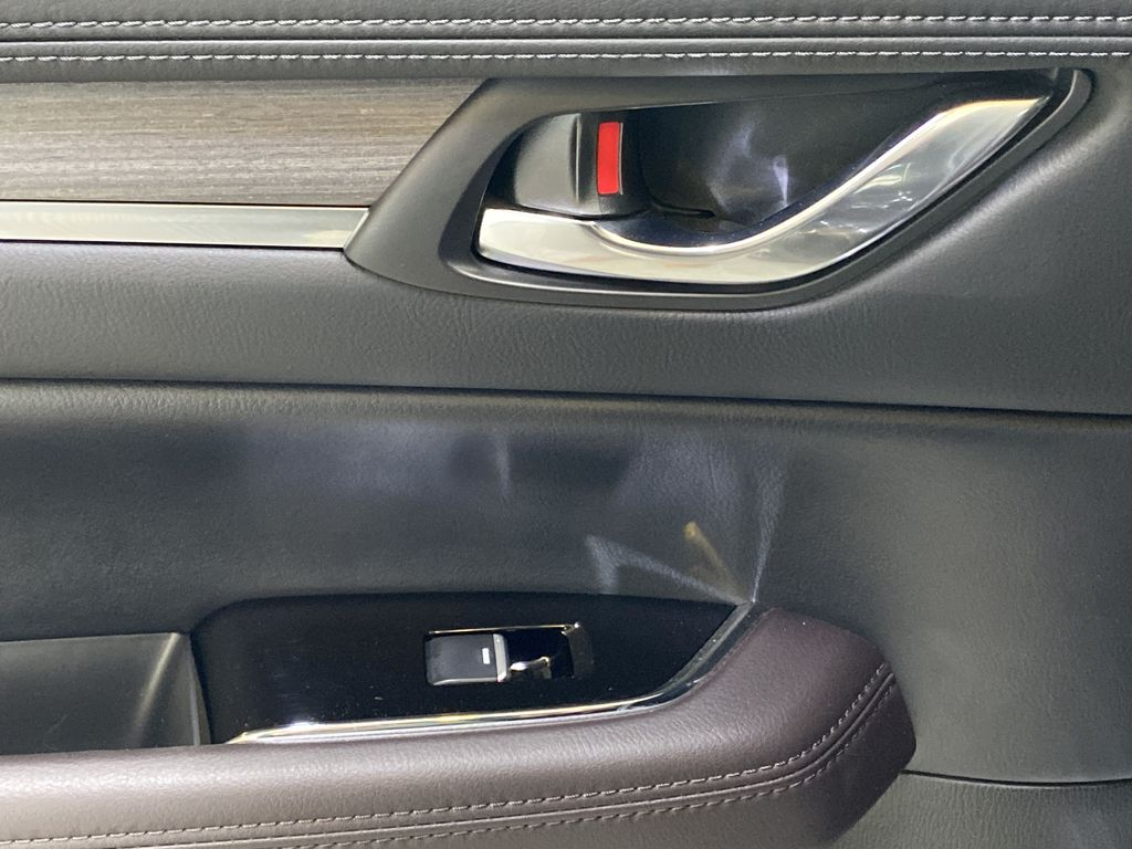 JET BLACK MICA 2021 Mazda CX-5 Signature AWD - Apple CarPlay, 360º Camera, Adaptive Cruise LR Door Panel Ctls Photo in Edmonton AB