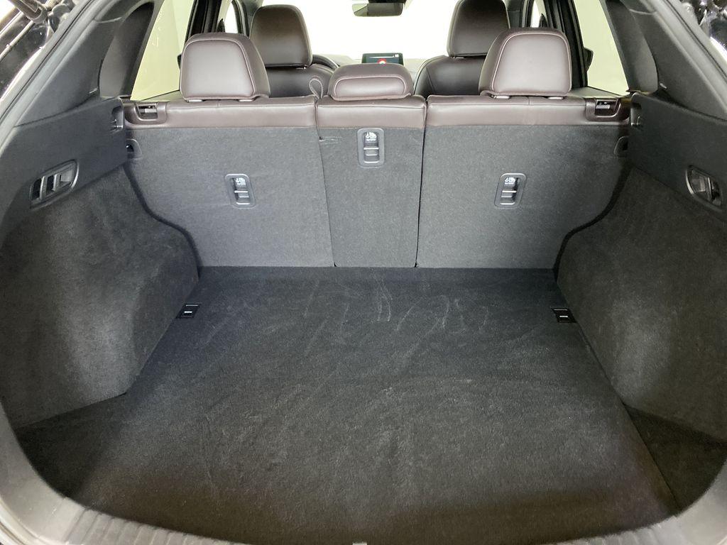 JET BLACK MICA 2021 Mazda CX-5 Signature AWD - Apple CarPlay, 360º Camera, Adaptive Cruise Trunk / Cargo Area Photo in Edmonton AB