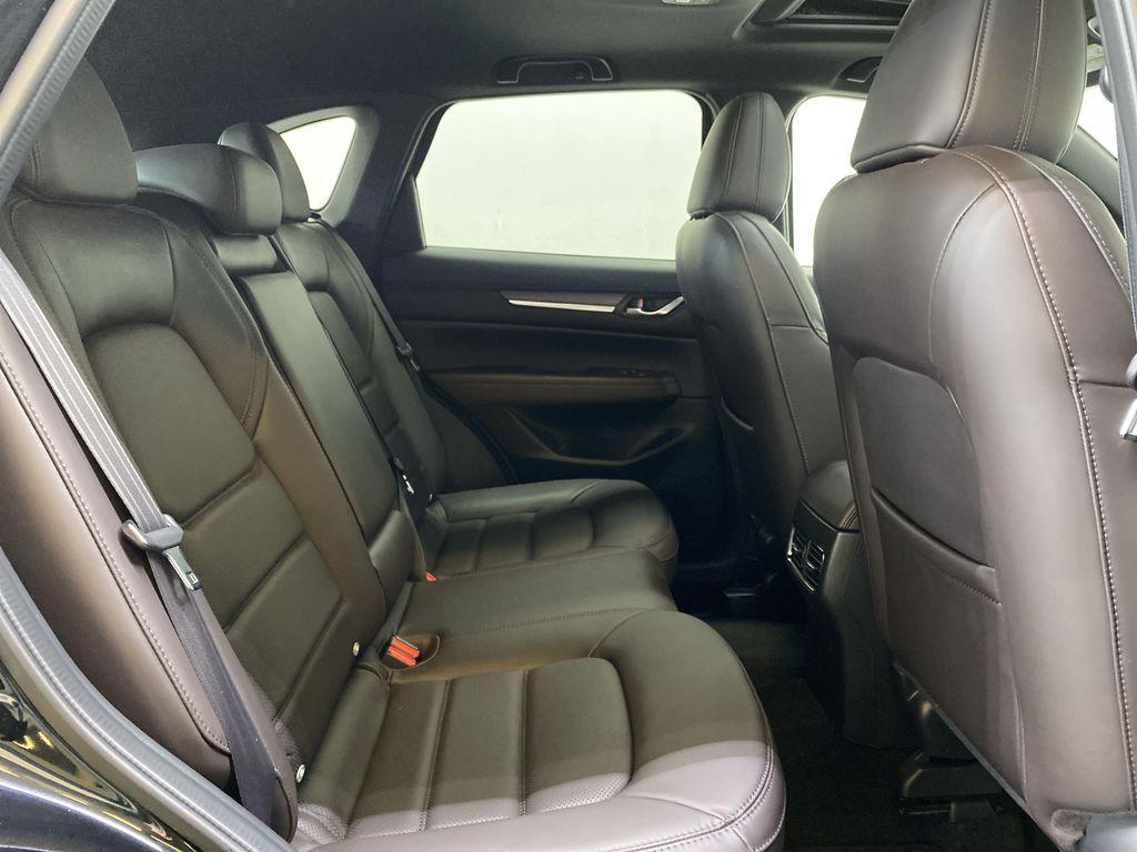 JET BLACK MICA 2021 Mazda CX-5 Signature AWD - Apple CarPlay, 360º Camera, Adaptive Cruise Right Side Rear Seat  Photo in Edmonton AB