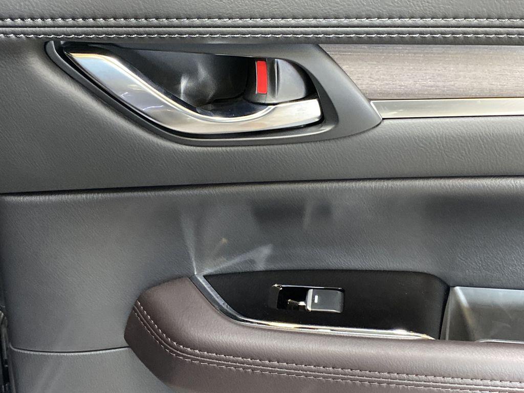 JET BLACK MICA 2021 Mazda CX-5 Signature AWD - Apple CarPlay, 360º Camera, Adaptive Cruise Passenger Rear Door Controls Photo in Edmonton AB