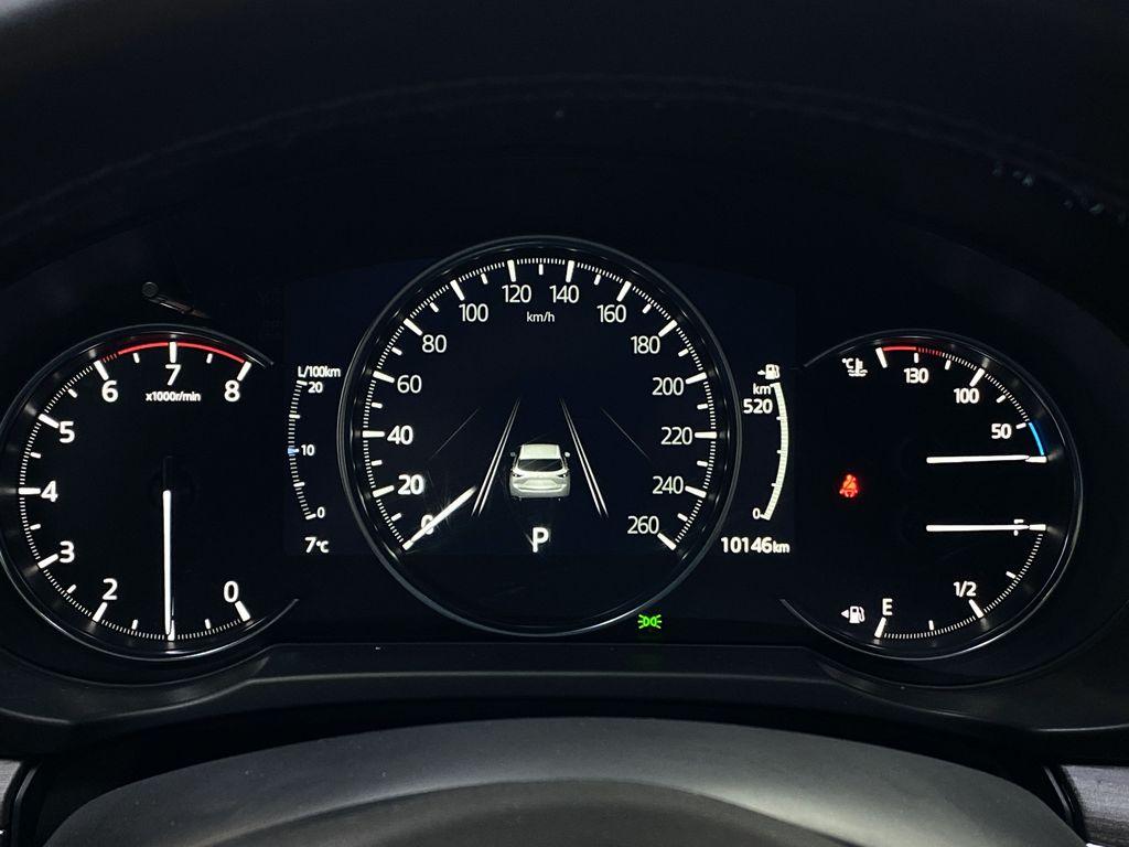 JET BLACK MICA 2021 Mazda CX-5 Signature AWD - Apple CarPlay, 360º Camera, Adaptive Cruise Odometer Photo in Edmonton AB