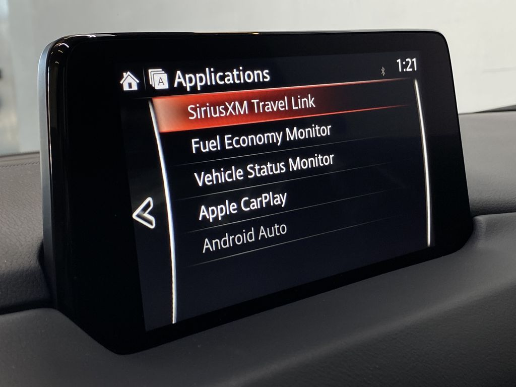 JET BLACK MICA 2021 Mazda CX-5 Signature AWD - Apple CarPlay, 360º Camera, Adaptive Cruise Apple Carplay/Android Auto Photo in Edmonton AB