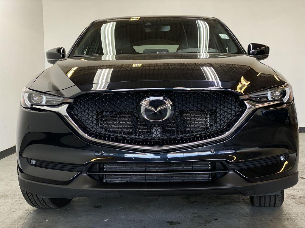 JET BLACK MICA 2021 Mazda CX-5 Signature AWD - Apple CarPlay, 360º Camera, Adaptive Cruise Front Vehicle Photo in Edmonton AB