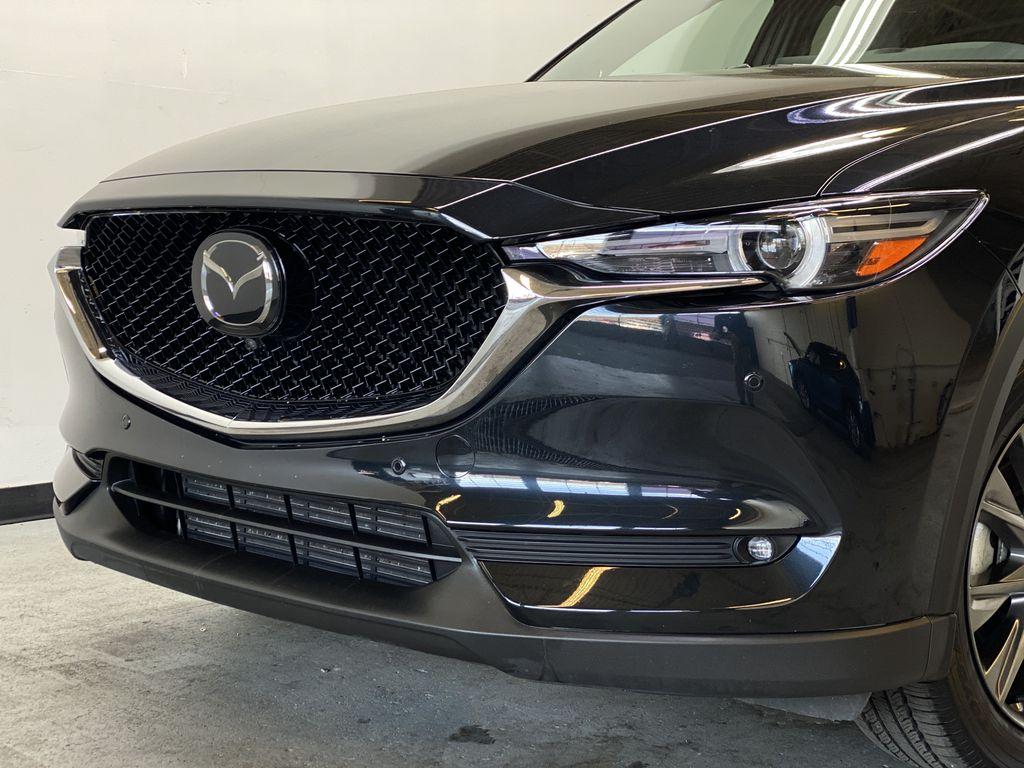 JET BLACK MICA 2021 Mazda CX-5 Signature AWD - Apple CarPlay, 360º Camera, Adaptive Cruise Left Front Head Light / Bumper and Grill in Edmonton AB