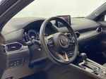 JET BLACK MICA 2021 Mazda CX-5 Signature AWD - Apple CarPlay, 360º Camera, Adaptive Cruise Steering Wheel and Dash Photo in Edmonton AB