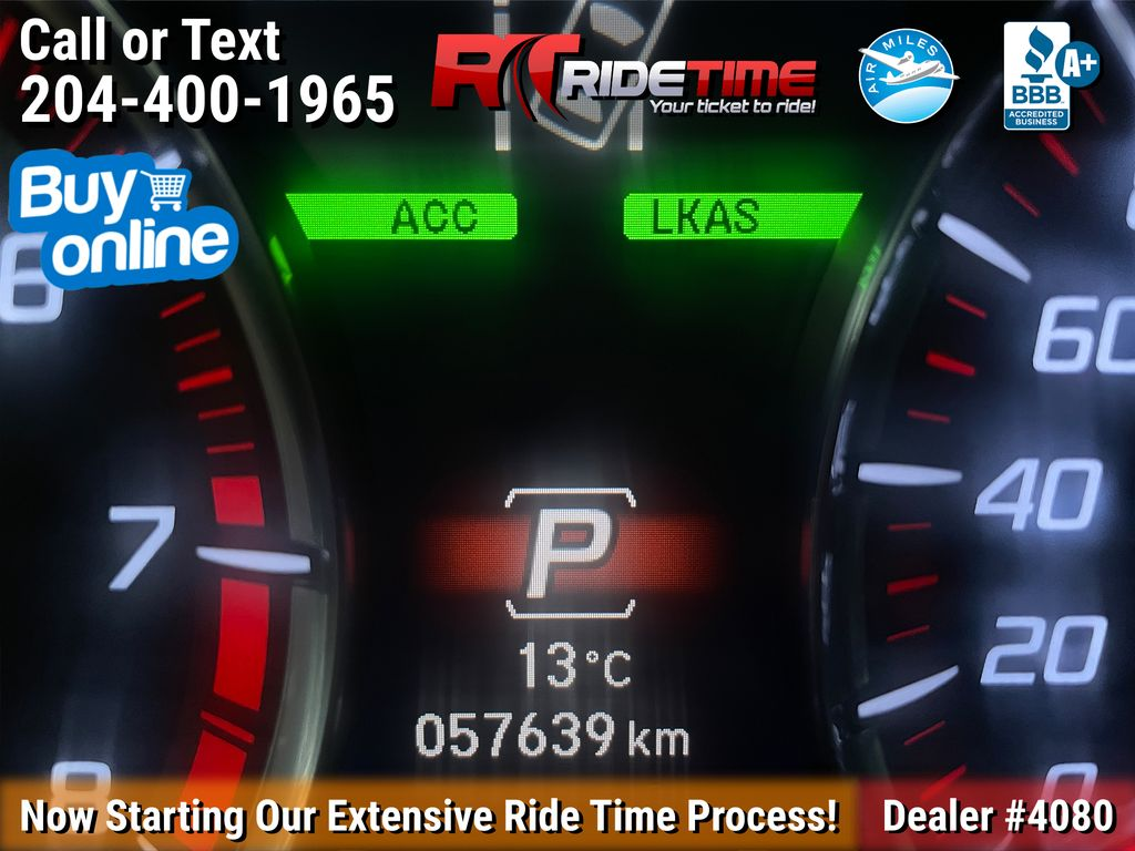 Black[Crystal Black Pearl] 2019 Acura TLX Tech A-Spec SH-AWD Odometer Photo in Winnipeg MB