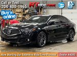 Black[Crystal Black Pearl] 2019 Acura TLX Tech A-Spec SH-AWD Primary Photo in Winnipeg MB
