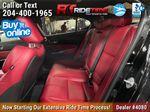 Black[Crystal Black Pearl] 2019 Acura TLX Tech A-Spec SH-AWD Left Side Rear Seat  Photo in Winnipeg MB