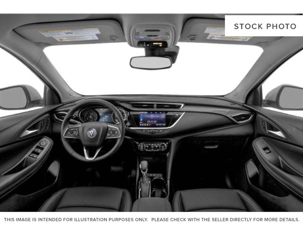 Black[Ebony Twilight Metallic] 2022 Buick Encore GX Central Dash Options Photo in Edmonton AB