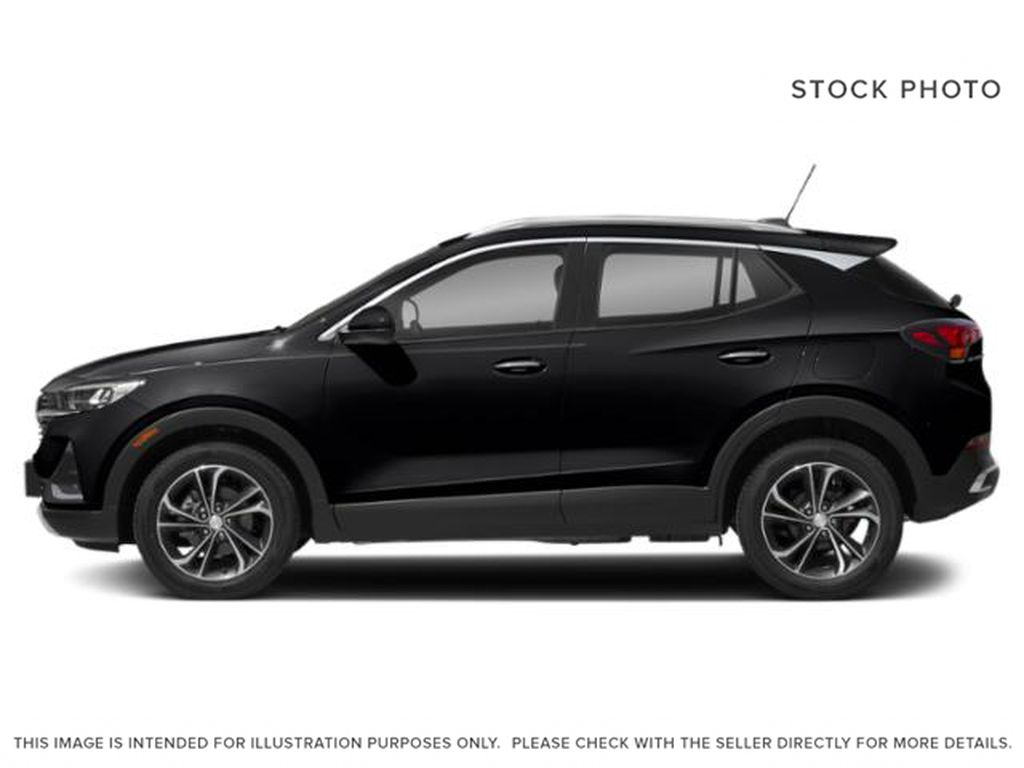 Black[Ebony Twilight Metallic] 2022 Buick Encore GX Left Side Photo in Edmonton AB