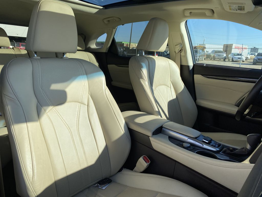 White[Eminent White Pearl] 2017 Lexus RX 350 Right Side Front Seat  Photo in Edmonton AB