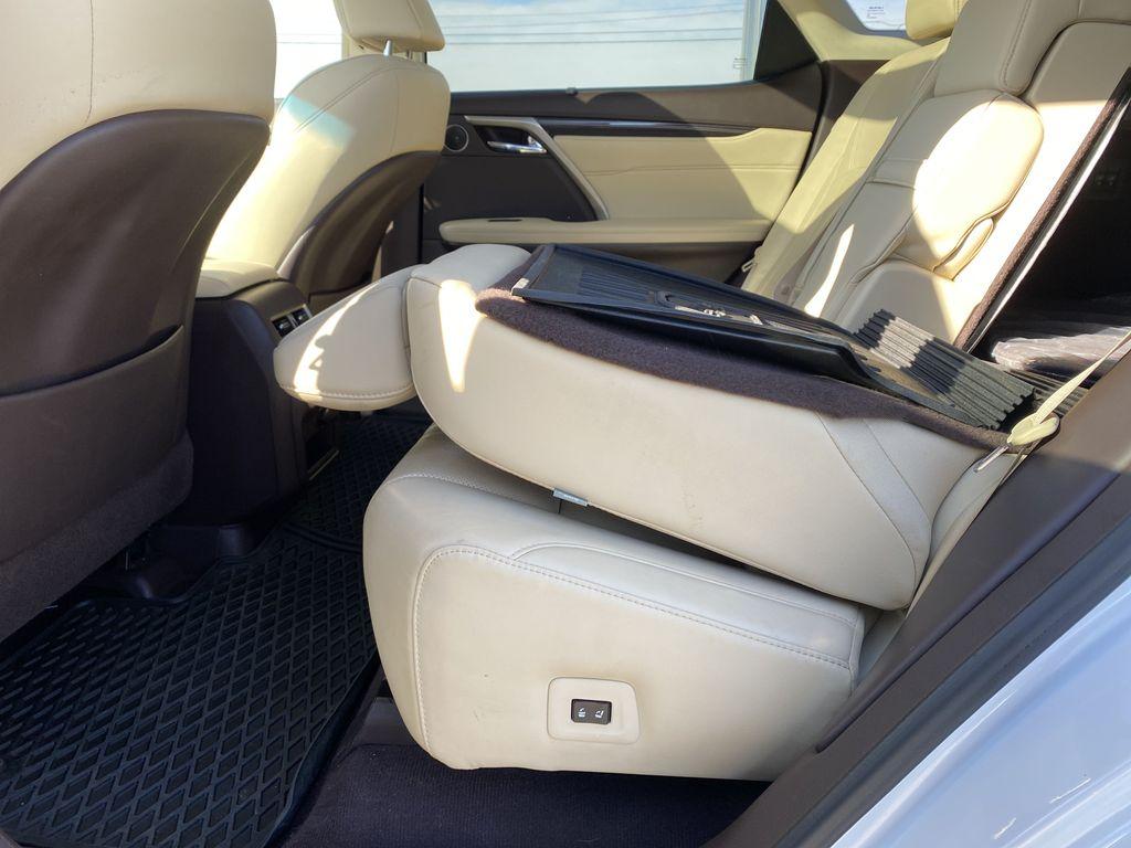White[Eminent White Pearl] 2017 Lexus RX 350 Rear Seat: Cargo/Storage Photo in Edmonton AB