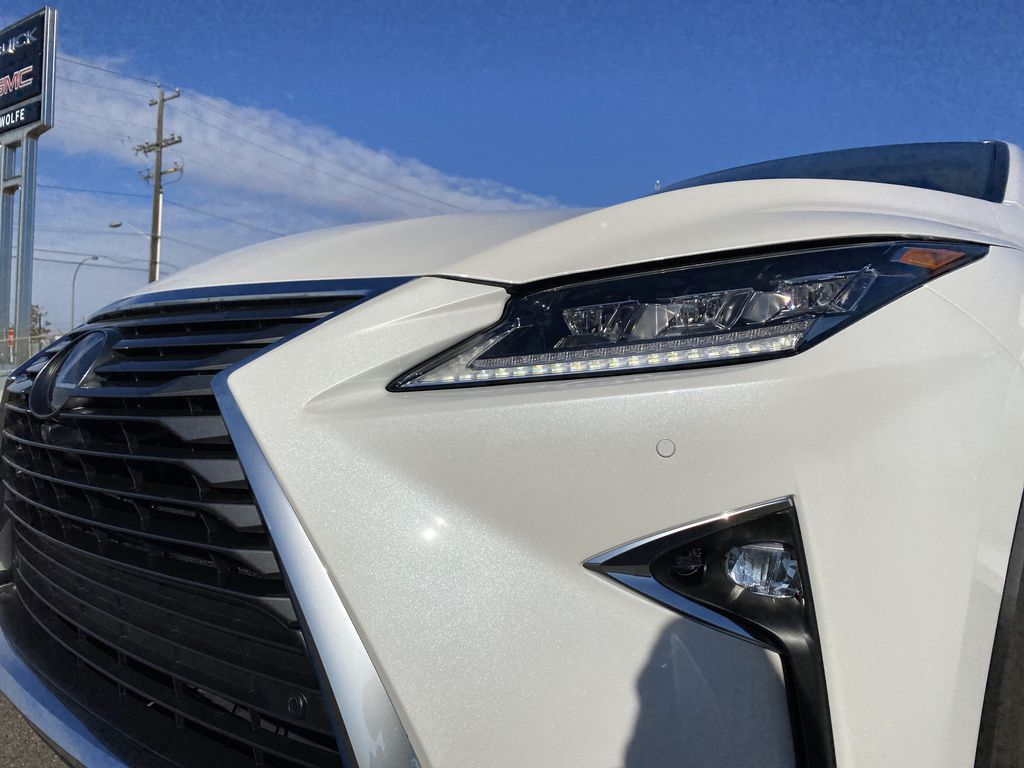 White[Eminent White Pearl] 2017 Lexus RX 350 Left Front Head Light / Bumper and Grill in Edmonton AB