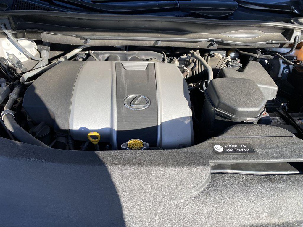 White[Eminent White Pearl] 2017 Lexus RX 350 Engine Compartment Photo in Edmonton AB