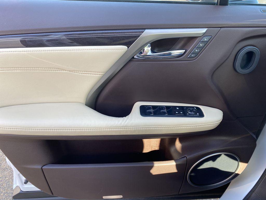 White[Eminent White Pearl] 2017 Lexus RX 350 Left Front Interior Door Panel Photo in Edmonton AB