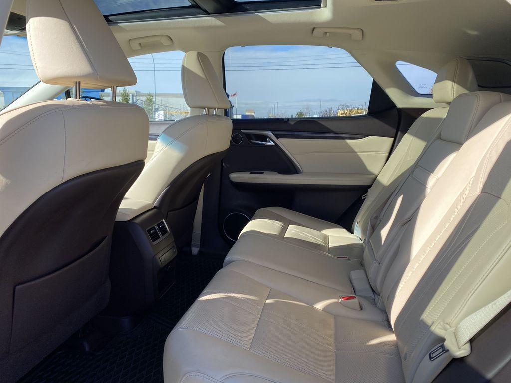 White[Eminent White Pearl] 2017 Lexus RX 350 Left Side Rear Seat  Photo in Edmonton AB