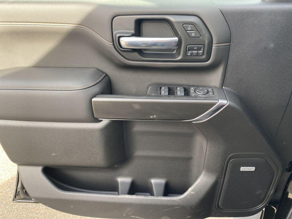 Black[Ebony Twilight Metallic] 2022 GMC Sierra 3500HD Left Front Interior Door Panel Photo in Edmonton AB