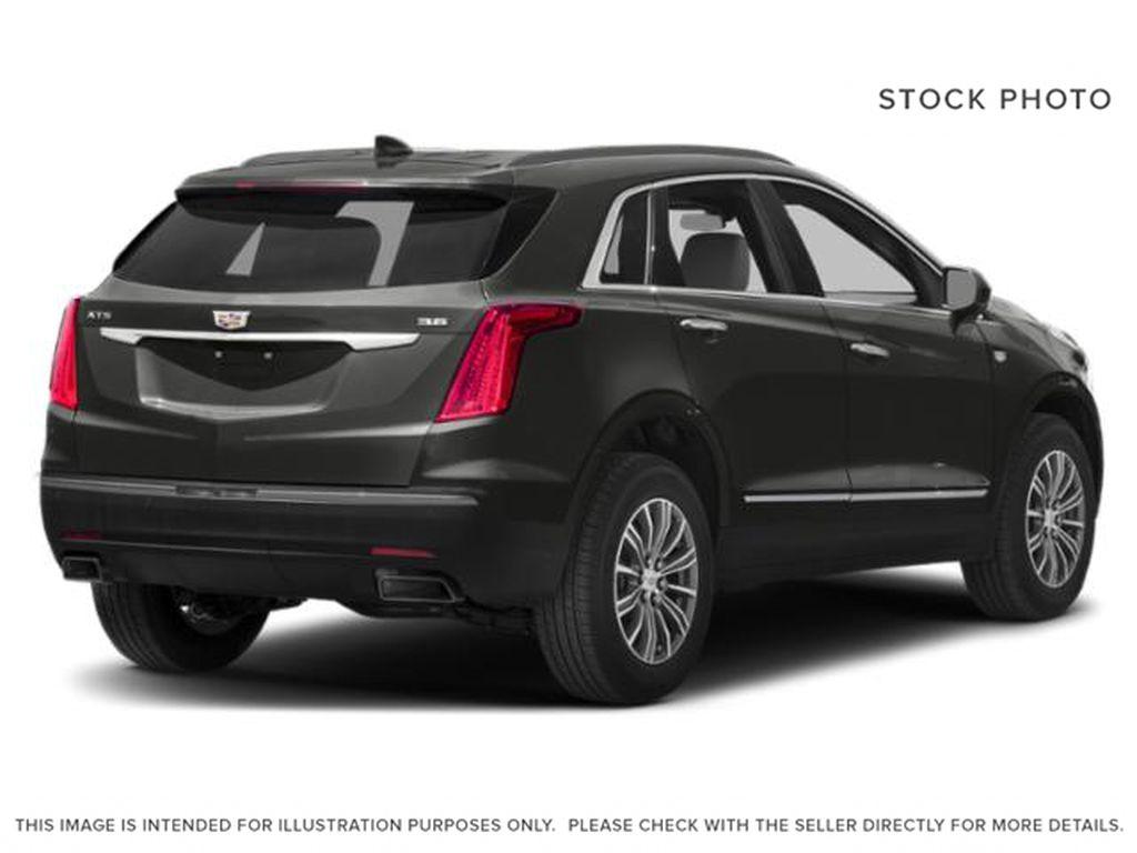 Gray[Dark Granite Metallic] 2019 Cadillac XT5 Luxury Right Rear Corner Photo in Calgary AB