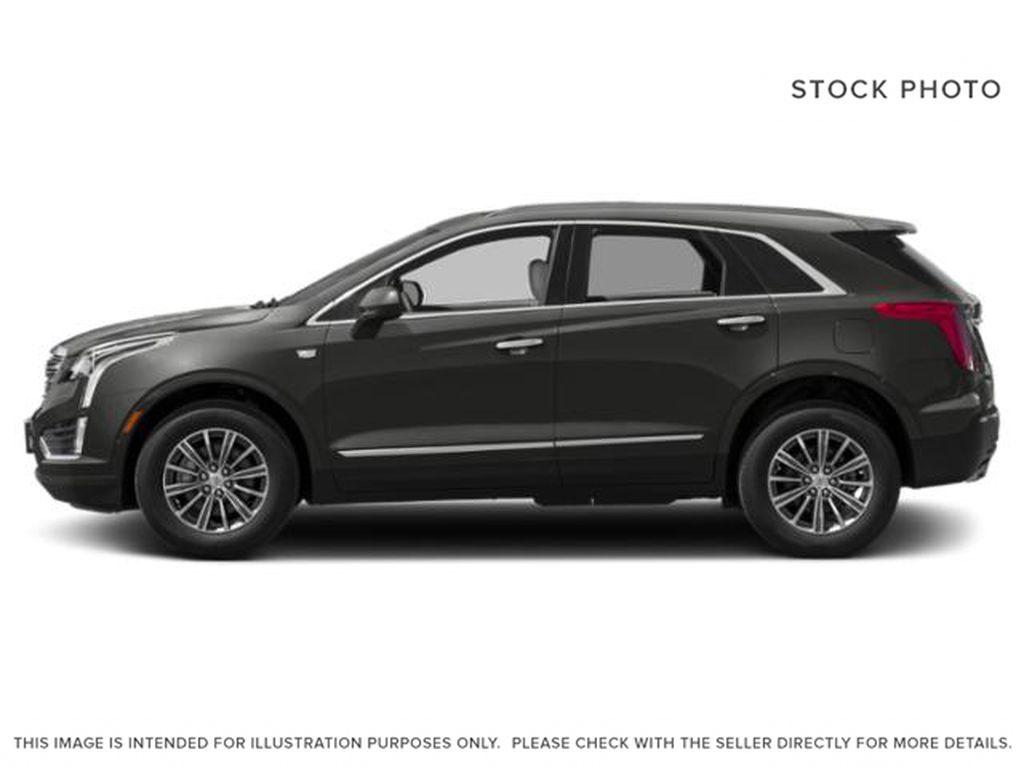 Gray[Dark Granite Metallic] 2019 Cadillac XT5 Luxury Left Side Photo in Calgary AB