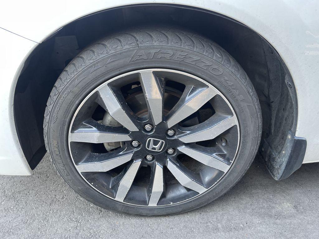 WHITE 2015 Honda Civic Sedan Touring Left Front Interior Door Panel Photo in Edmonton AB