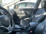 WHITE 2015 Honda Civic Sedan Touring  Driver's Side Door Controls Photo in Edmonton AB
