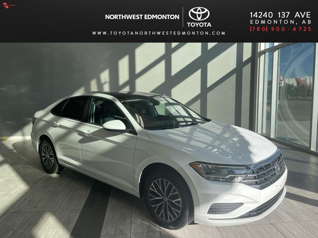 White 2019 Volkswagen Jetta SEL