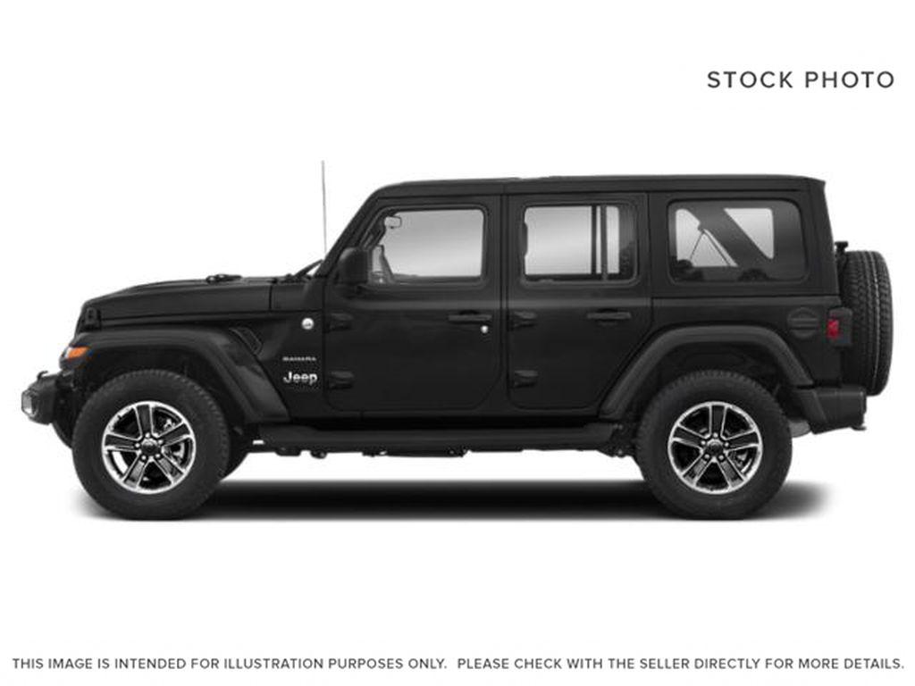 Black[Black] 2021 Jeep Wrangler Left Side Photo in Fort Macleod AB