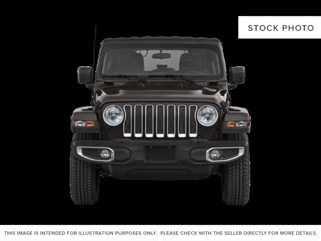 Black[Black] 2021 Jeep Wrangler Front Vehicle Photo in Fort Macleod AB