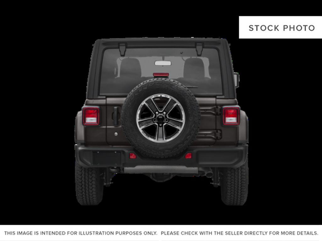 Black[Black] 2021 Jeep Wrangler Rear of Vehicle Photo in Fort Macleod AB
