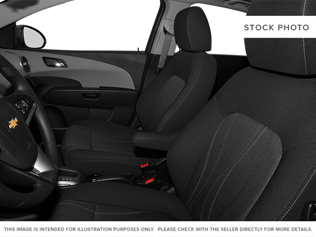 2014 Chevrolet Sonic Left Front Interior Photo in Medicine Hat AB