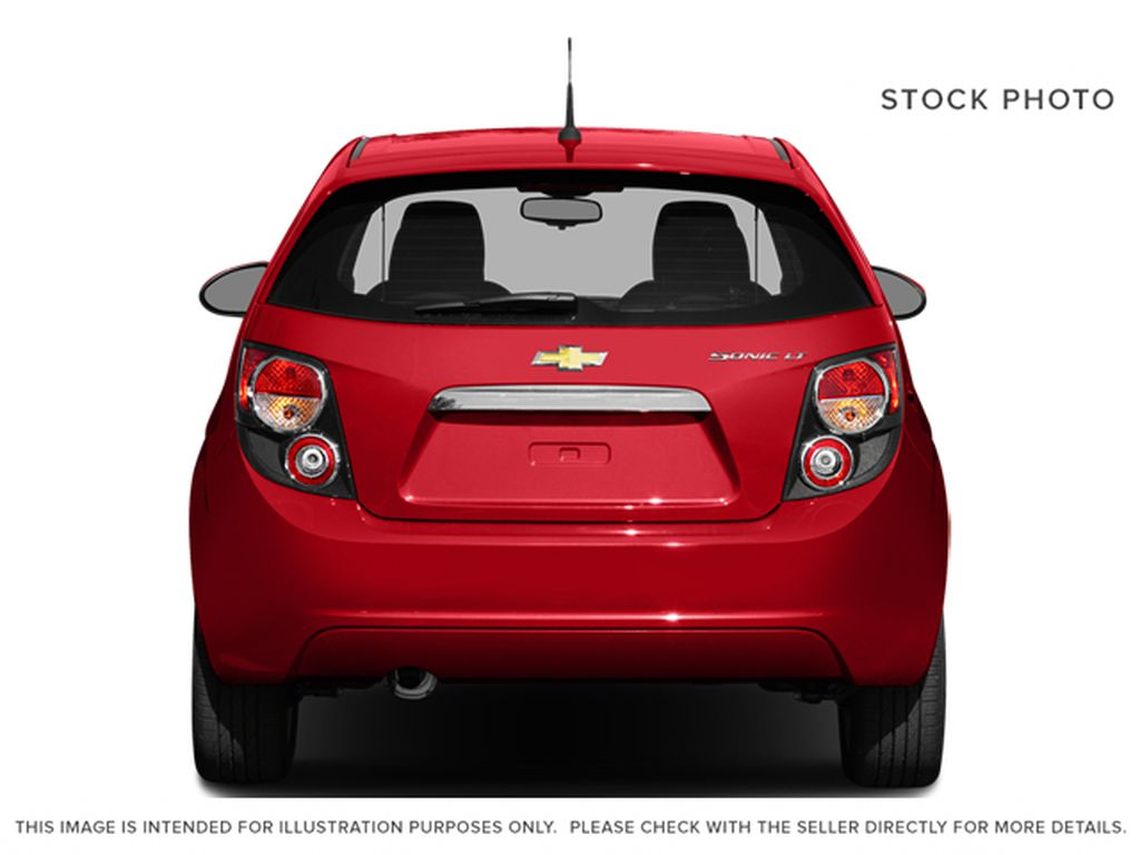 2014 Chevrolet Sonic Rear of Vehicle Photo in Medicine Hat AB