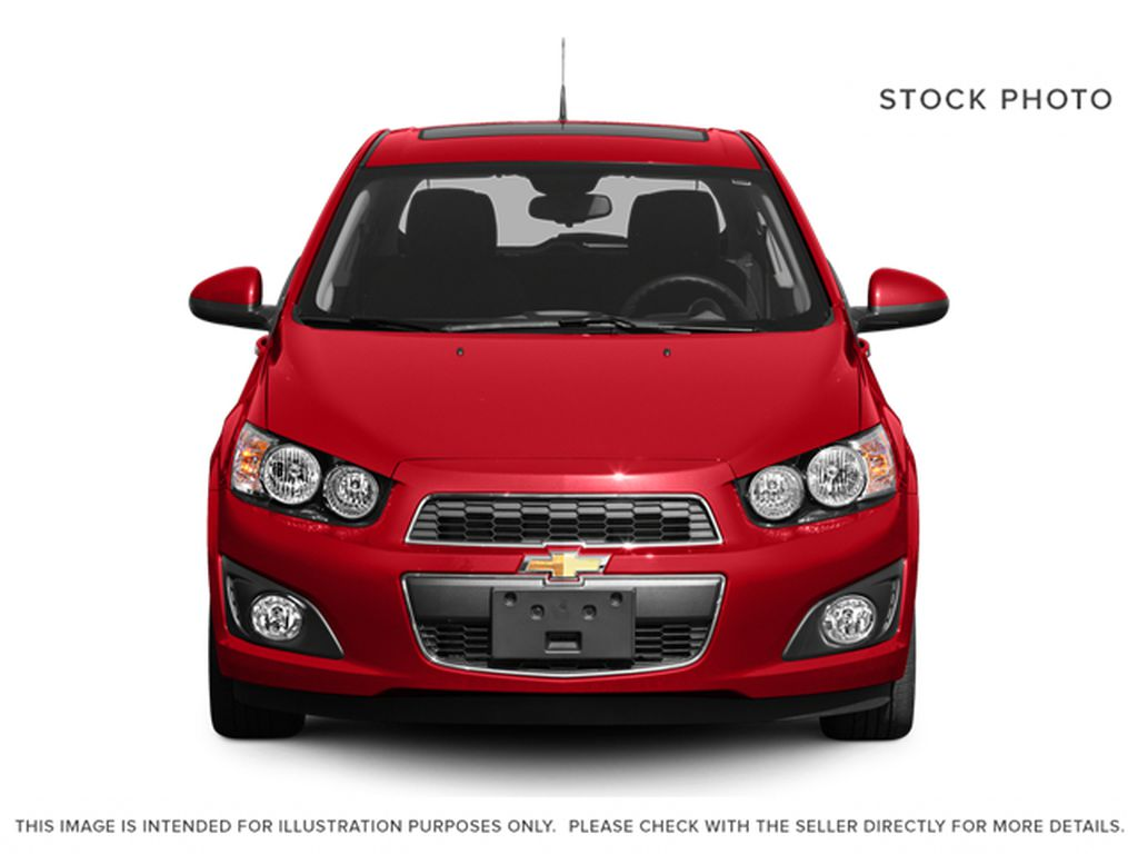 2014 Chevrolet Sonic Front Vehicle Photo in Medicine Hat AB