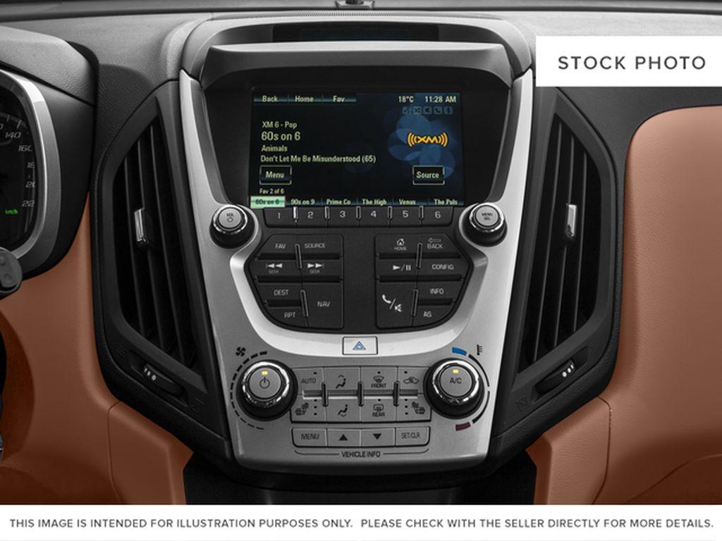 Gray[Nightfall Grey Metallic] 2017 Chevrolet Equinox Radio Controls Closeup Photo in Fort Macleod AB