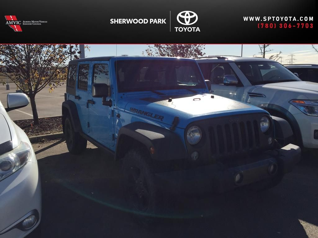 Blue[Chief Clearcoat] 2017 Jeep Wrangler Unlimited 4X4